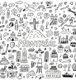 Paperole Affiche géante à colorier Paperole Top Montréal