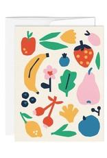 Paperole Carte de souhait Paperole Fruits