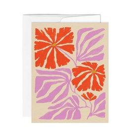 Paperole Carte de Souhait Paperole Jardin anglais