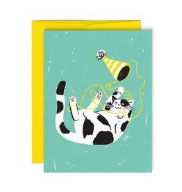 Paperole Carte de Souhait Paperole Chat taquin