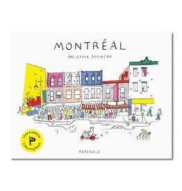 Paperole Cahier à colorier Paperole Montréal