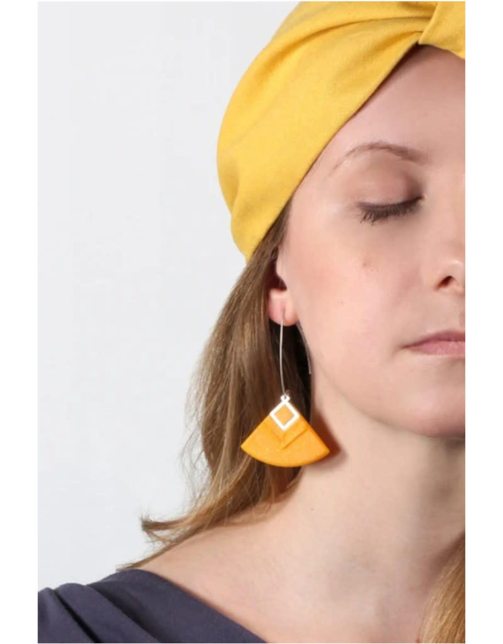 Bijoux Pepine Boucles d'oreilles Cléopâtre Bijoux Pépine Ocre