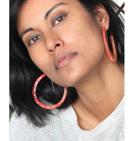 Bijoux Pepine Boucles d'oreilles Ouroboros Bijoux Pépine Corail