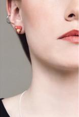 Bijoux Pepine Boucles d'oreilles Diamant Bijoux Pépine Corail