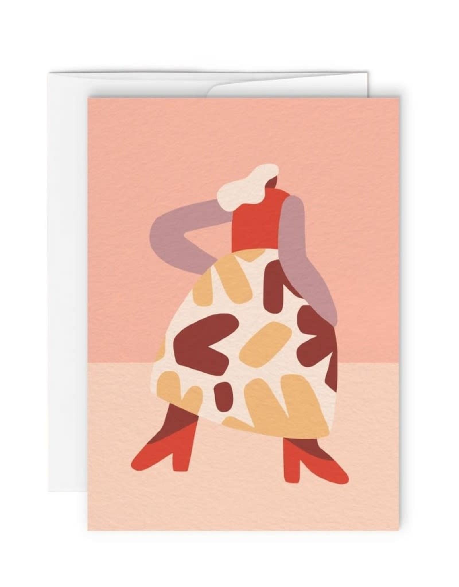 Paperole Carte de souhait Paperole Françoise