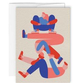 Paperole Carte de souhait Paperole Courte échelle