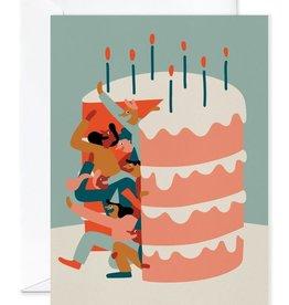 Paperole Carte de souhait Géante Paperole Surprise