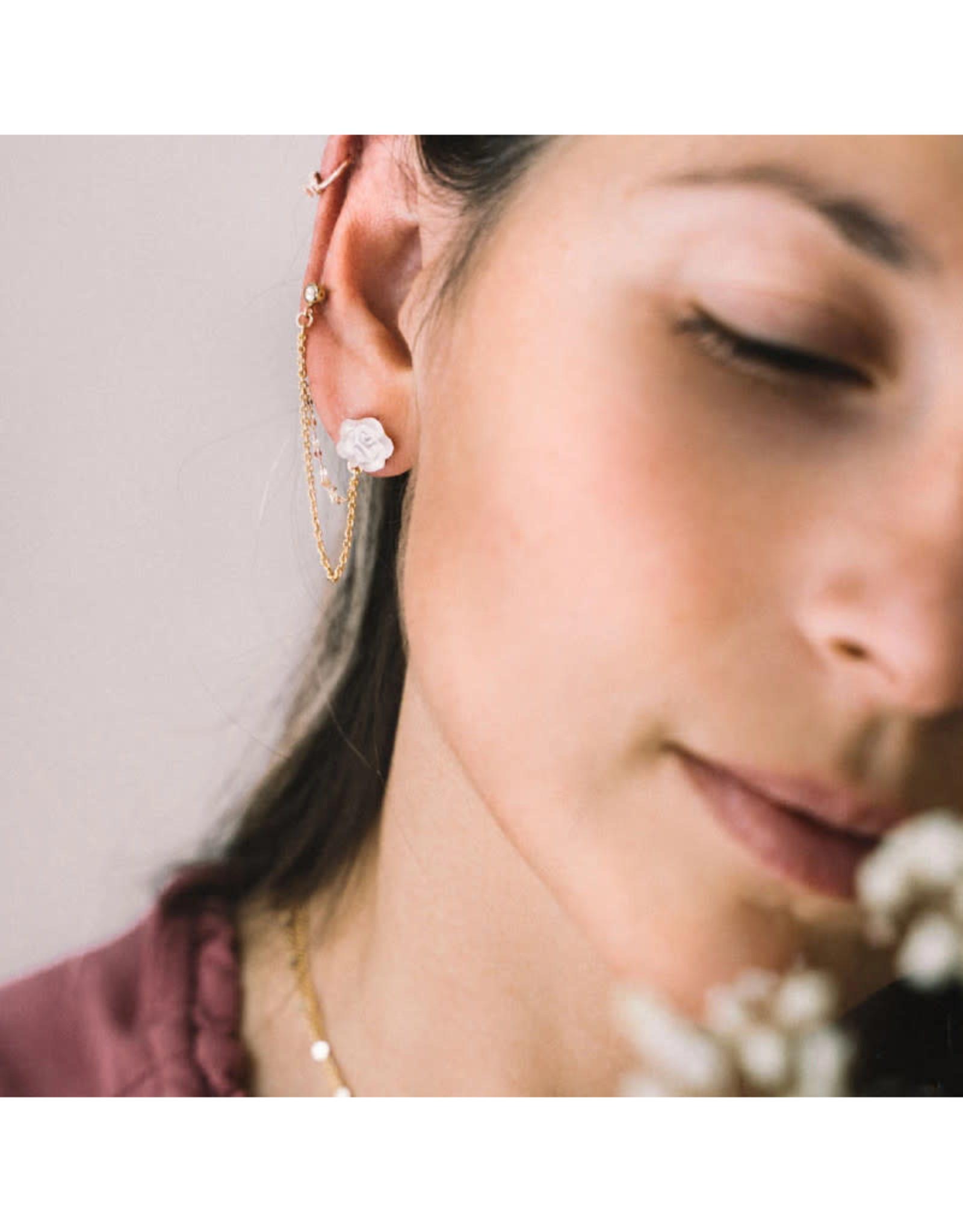 Sandrine Devost Boucles d'oreilles Astrid SD1685 Sandrine Devost