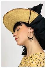 Kazak Boucles d'oreilles Bengarra PE21 Kazak Noir