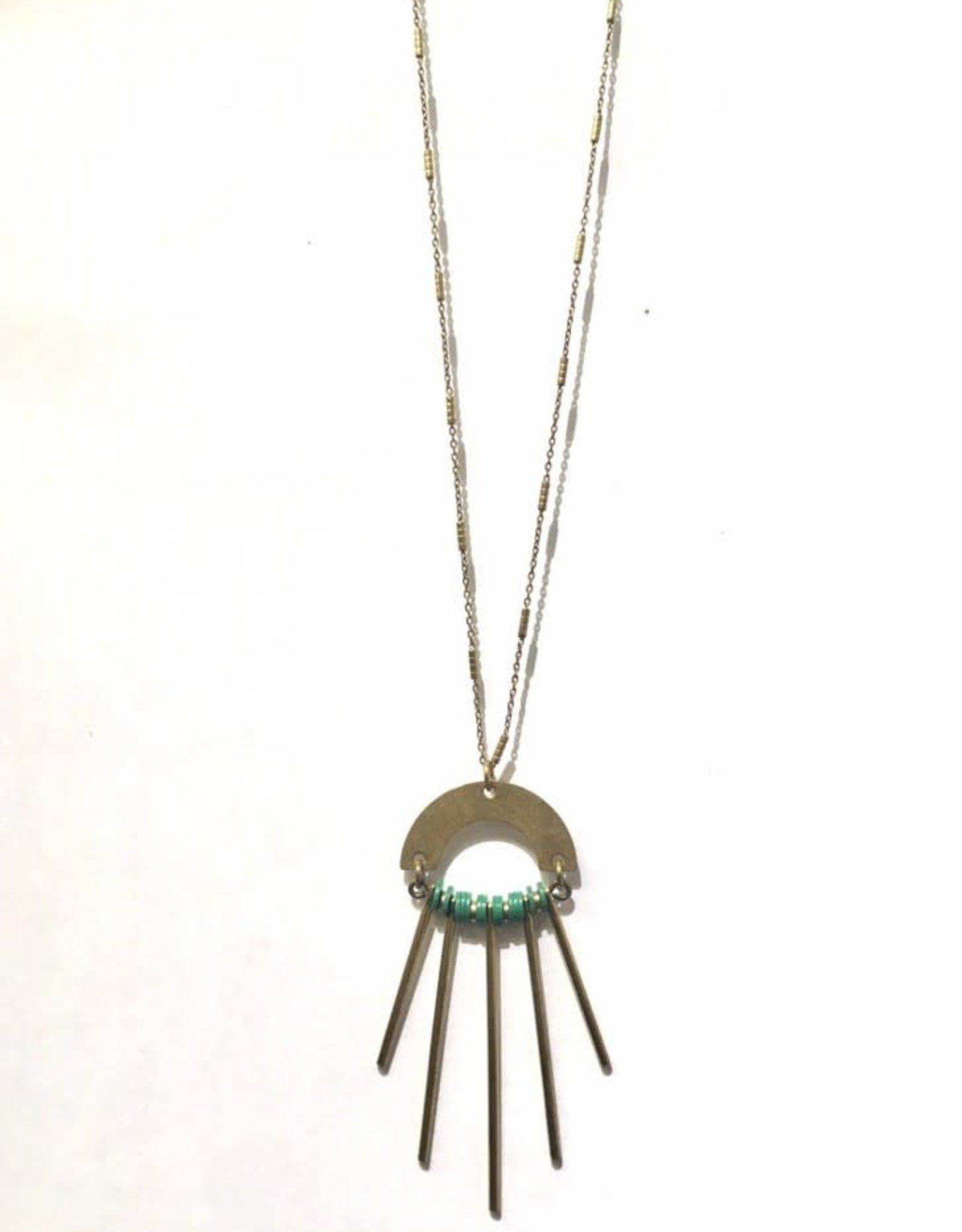Kazak Collier Pompei Kazak Vert