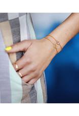 Lost & Faune Bracelet petit Mandala PE21 Lost & Faune Or