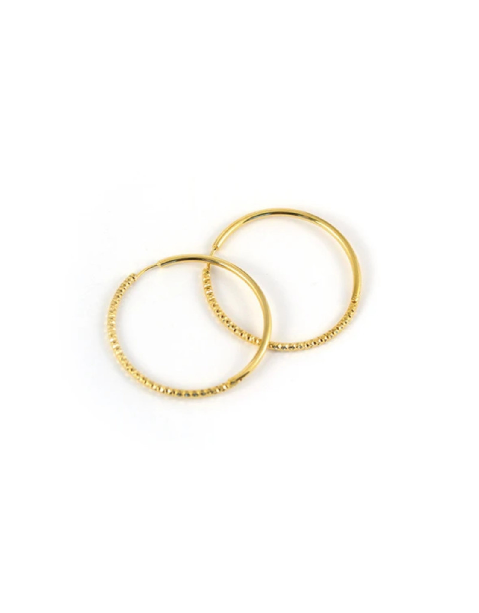 Lost & Faune Boucles d'oreilles anneaux Solstice Lost & Faune PE21 Or
