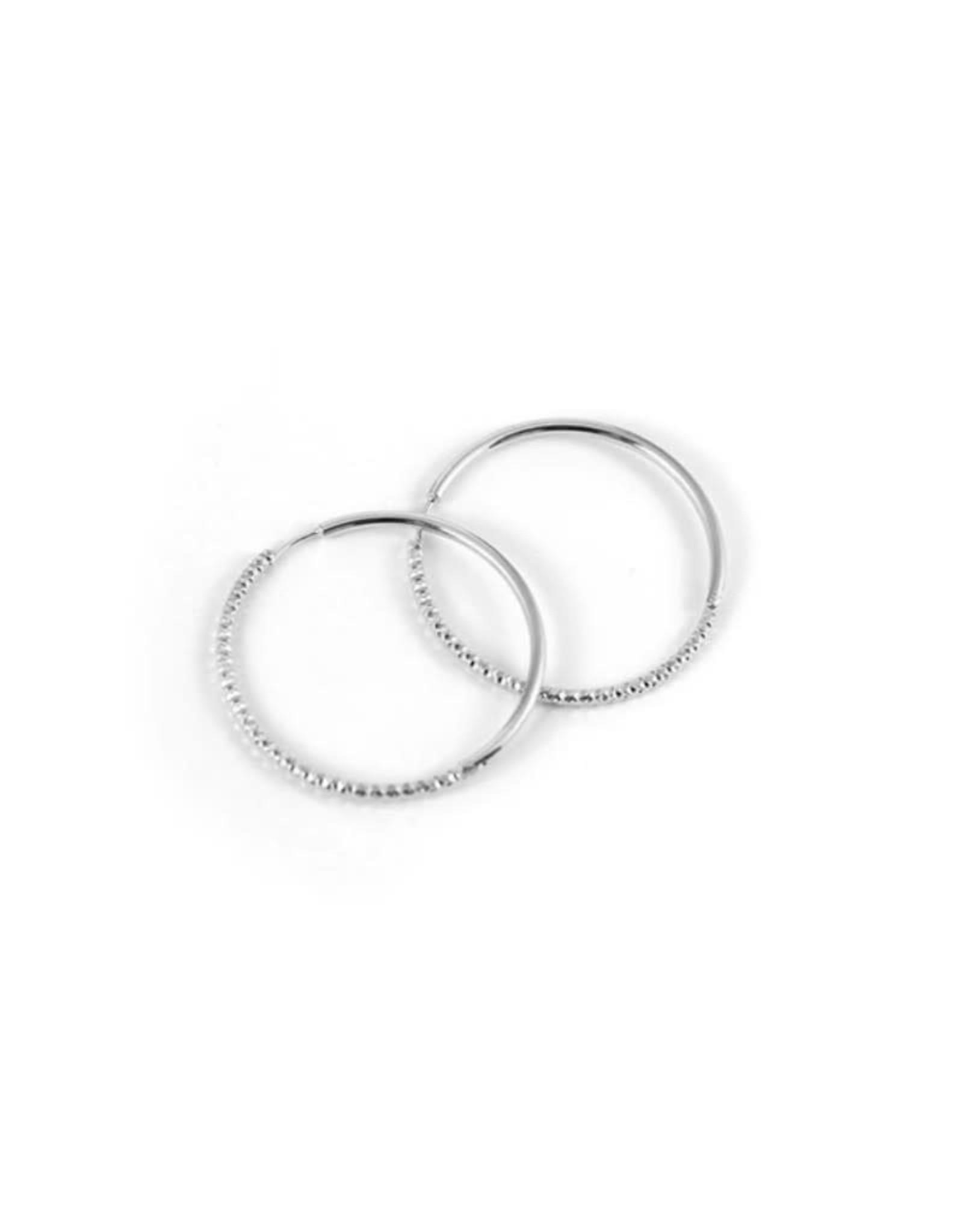 Lost & Faune Boucles d'oreilles anneaux Solstice Lost & Faune PE21 Argent