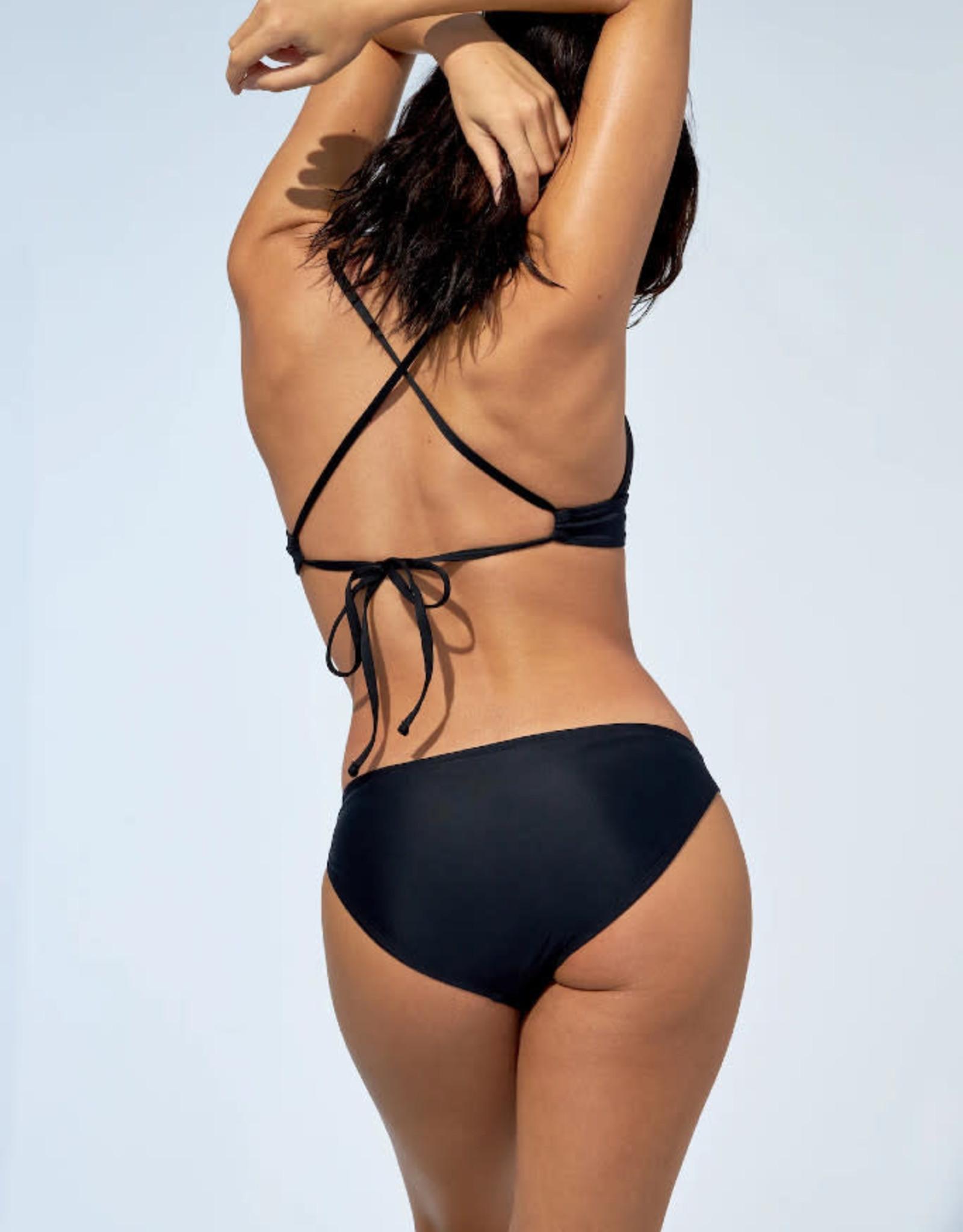 Selfish Swimwear Haut de bikini Kiana PE21 Selfish Swimwear Noir
