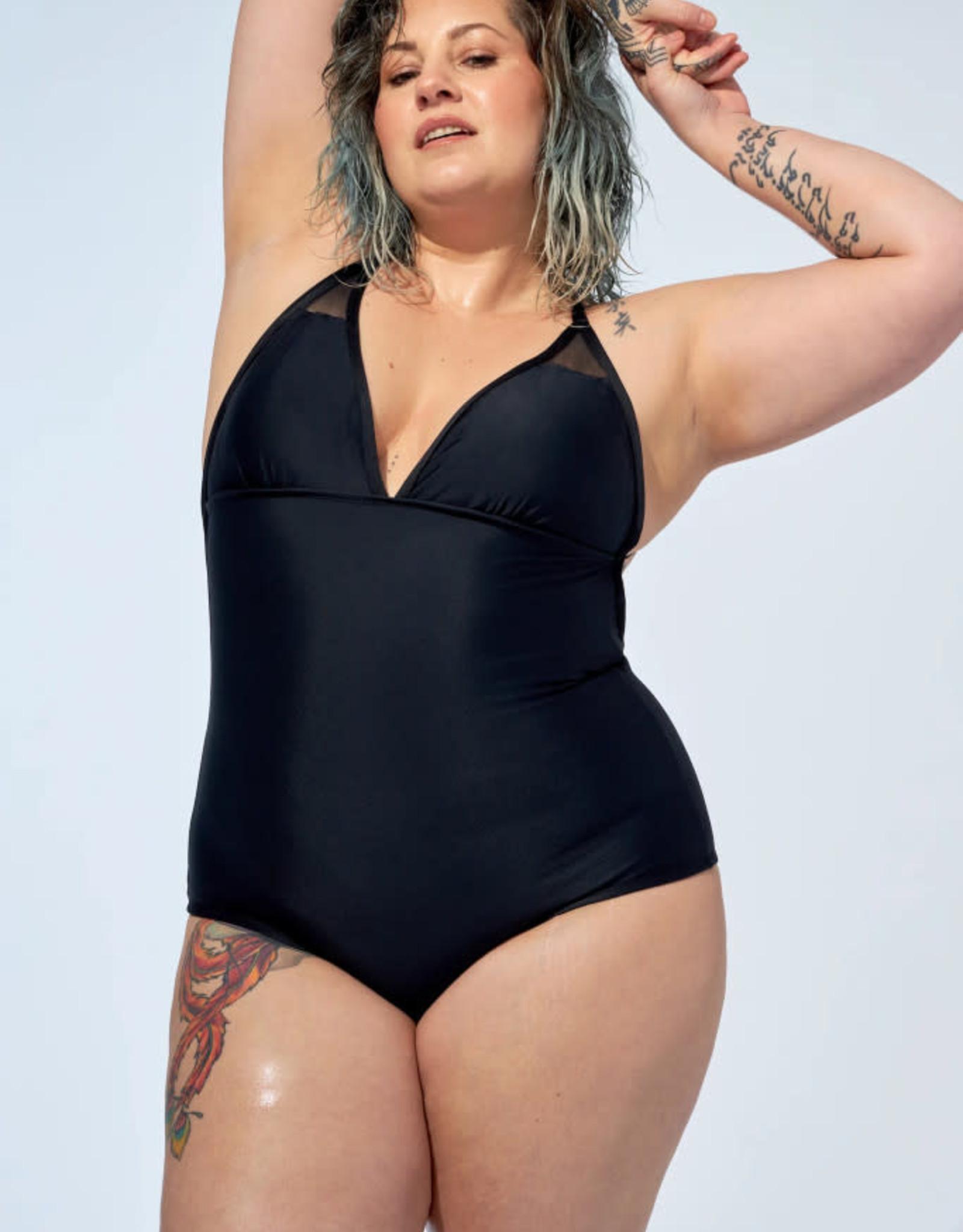 Selfish Swimwear Maillot one piece PE21 Michelle Selfish Swimwear Noir