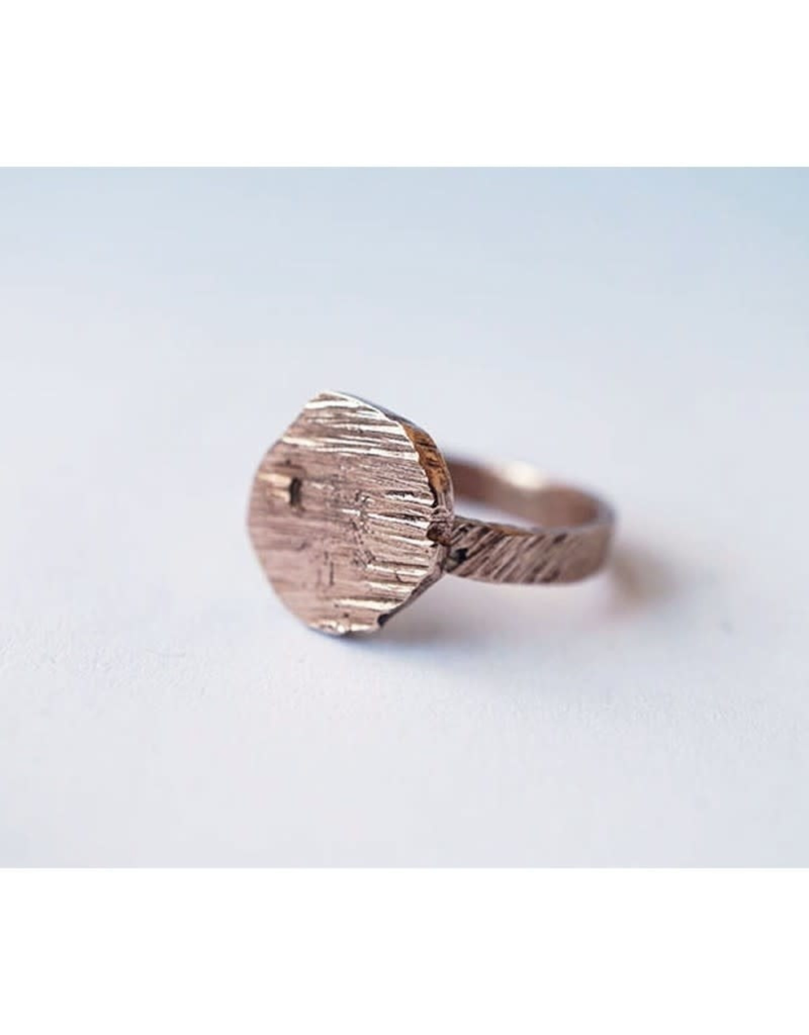 Marmod8 Bague Circle Texture Marmod8 Bronze T5