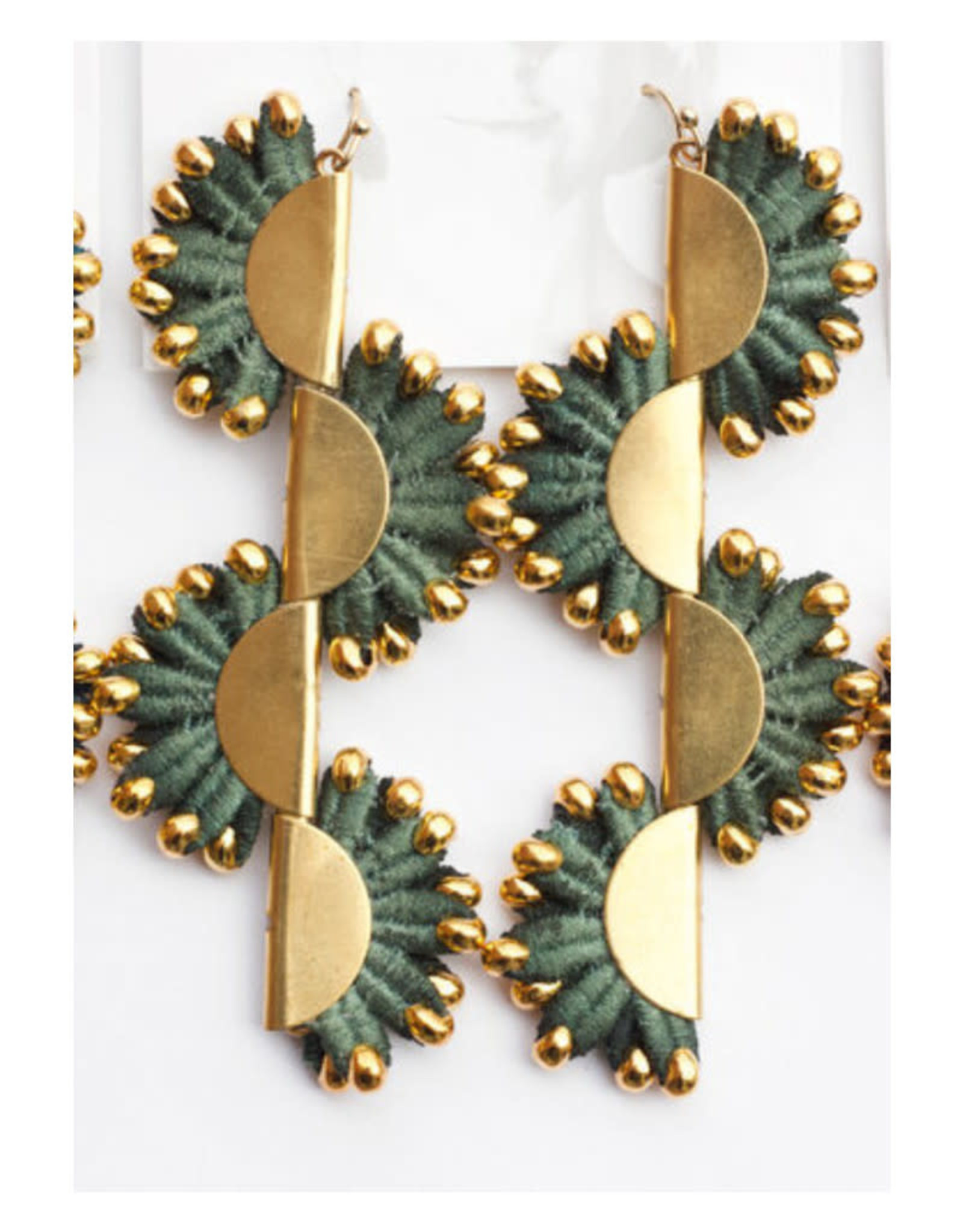 This Ilk Boucles d'oreilles Anthazoa This Ilk Teal