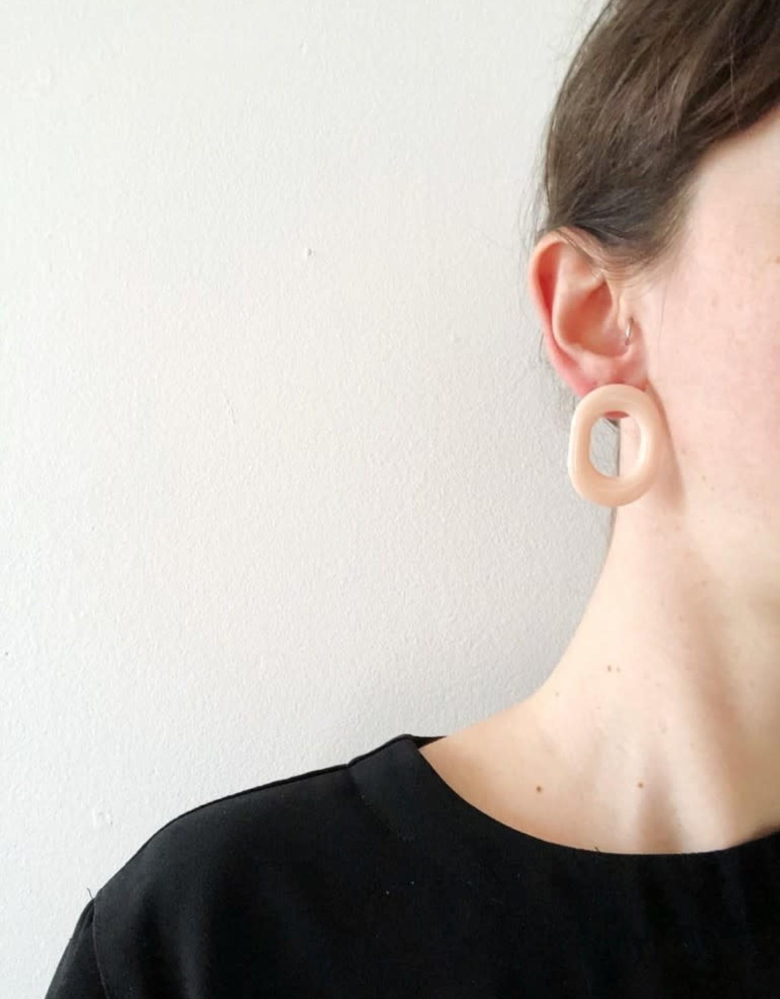 CartoucheMTL Boucles d'oreilles Chloé CartoucheMTL Pêche