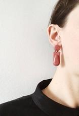 CartoucheMTL Boucles d'oreilles Joelle CartoucheMTL Marsala
