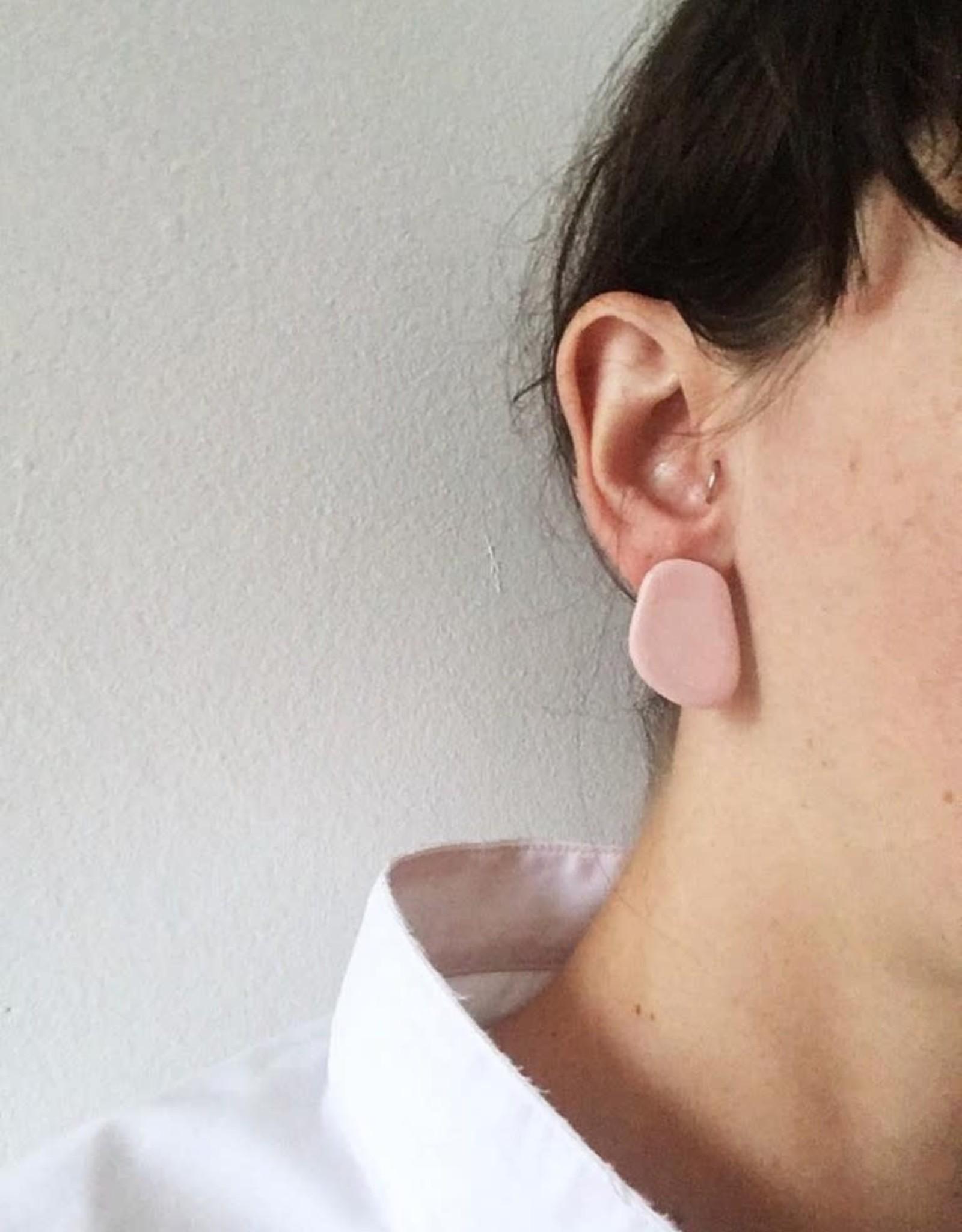 CartoucheMTL Boucles d'oreilles Inès CartoucheMTL Rose