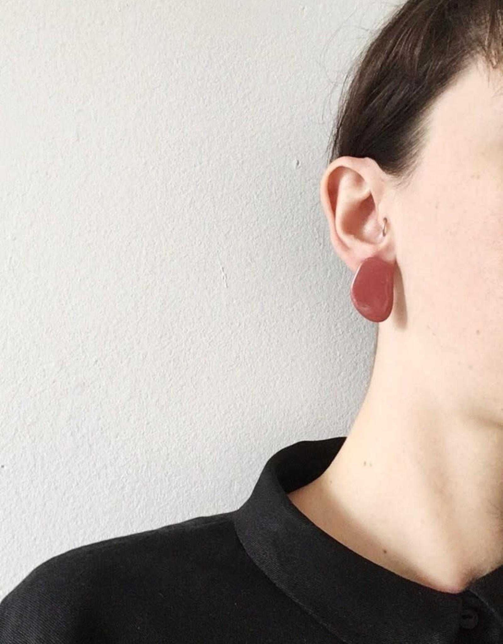CartoucheMTL Boucles d'oreilles Inès CartoucheMTL Terracotta