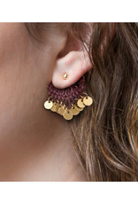 This Ilk Boucles d'oreilles Erth Ear Jacket This Ilk Black/Silver