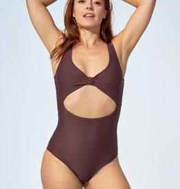 Selfish Swimwear Maillot une pièce Nicole PE21 Selfish Swimwear Mauve foncé
