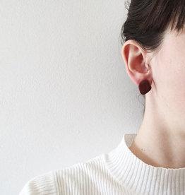 CartoucheMTL Clous d'oreilles CartoucheMTL Terracotta