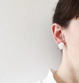 CartoucheMTL Clous d'oreilles CartoucheMTL Blanc confettis