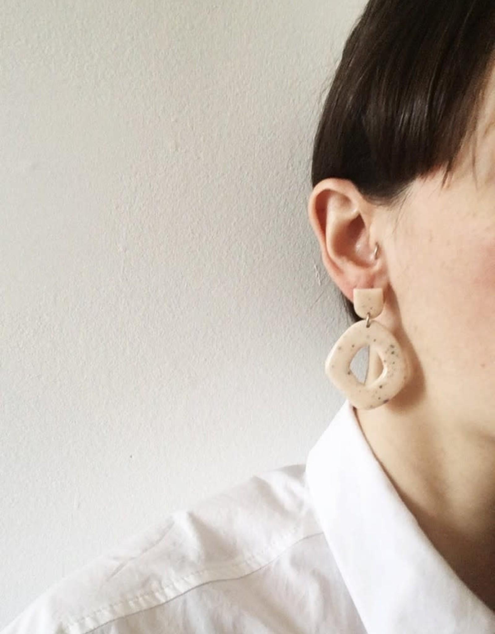 CartoucheMTL Boucles d'oreilles Suzanne CartoucheMTL Pêche