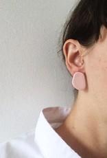 CartoucheMTL Boucles d'oreilles Ines CartoucheMTL Blanc confettis