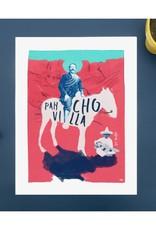 DRÉA Collage Affiche 8.5 X11 Pancho Villa Dréa Collage