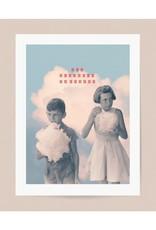 DRÉA Collage Affiche 8.5X11 Les mangeurs de nuages Dréa Collage