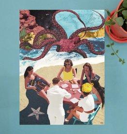 DRÉA Collage Affiche 11X14 Le repas Dréa Collage