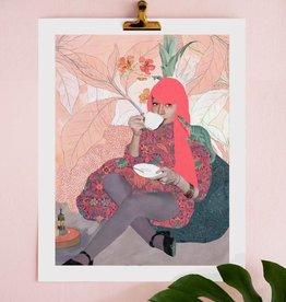 DRÉA Collage Affiche 11x14 Alice Dréa Collage