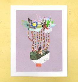 DRÉA Collage Affiche 11X14 La forêt des confettis Dréa Collage