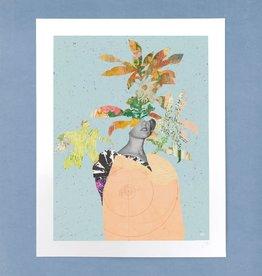 DRÉA Collage Affiche 11X14 La dame aux camélias Dréa Collage