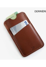 Fab' Porte-cartes Fab' cuir brun