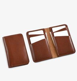 Fab' Portefeuille vertical Fab' cuir brun