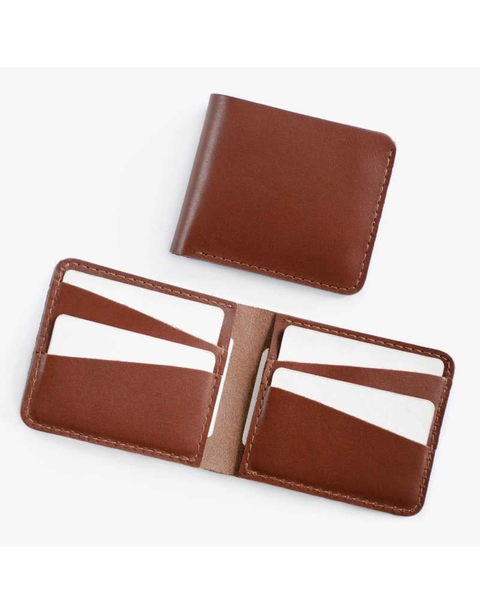 Fab' Portefeuille horizontal Fab' cuir brun