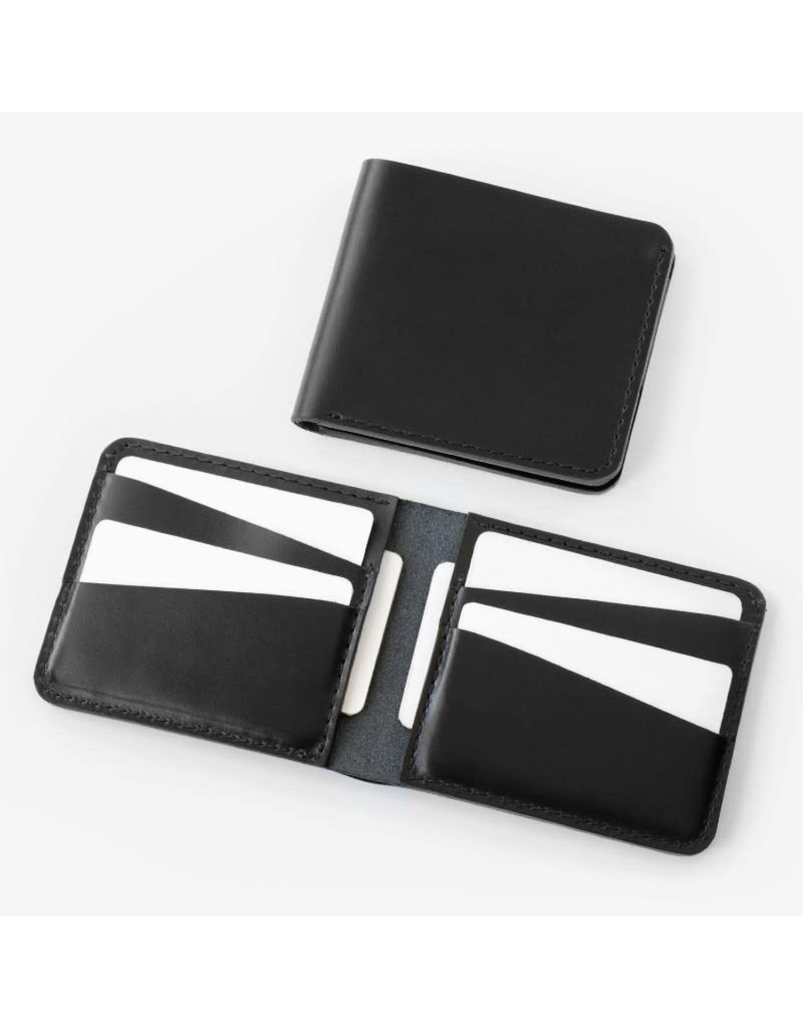 Fab' Portefeuille horizontal Fab' cuir noir