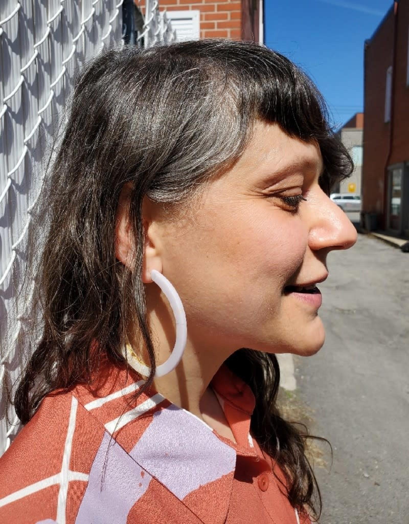 Bijoux Pepine Boucles d'oreilles Ouroboros Lilas Bijoux Pépine