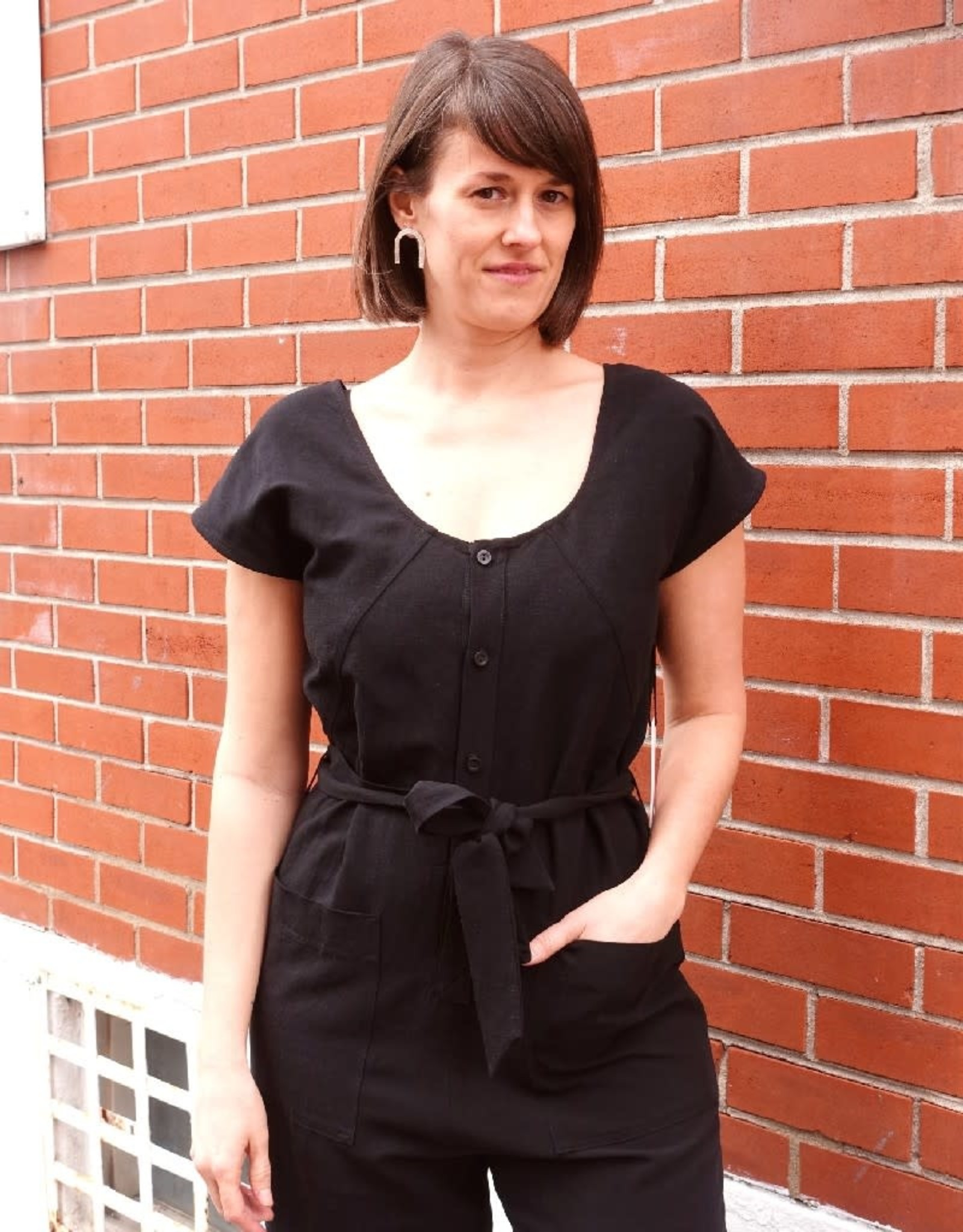 Eve Gravel Jumpsuit Lost Lover PE21 Eve Gravel Noir