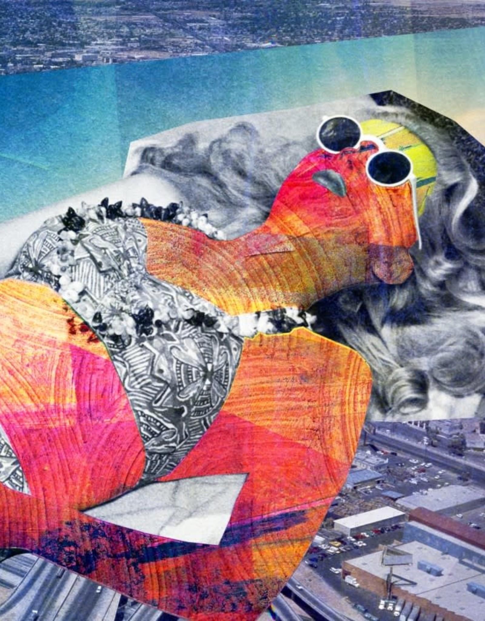 DRÉA Collage Affiche 11X14 Coup de soleil Dréa Collage