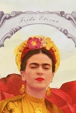 DRÉA Collage Affiche 11X14 Frida Eterna Dréa Collage