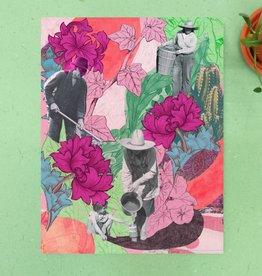 DRÉA Collage Affiche 8.5X11 Jardinage Dréa Collage