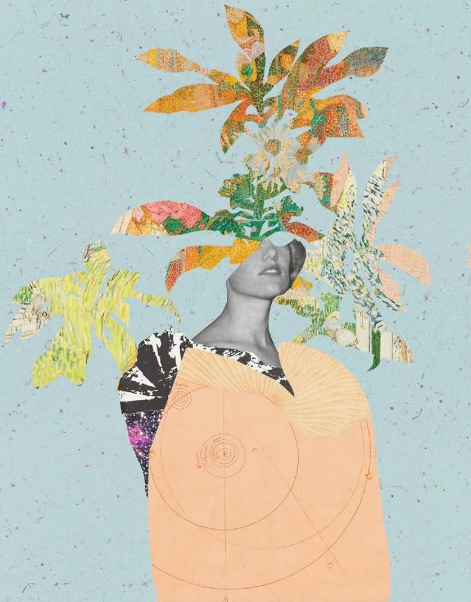 DRÉA Collage Affiche 8.5X11 La Dame aux Camélias Dréa Collage