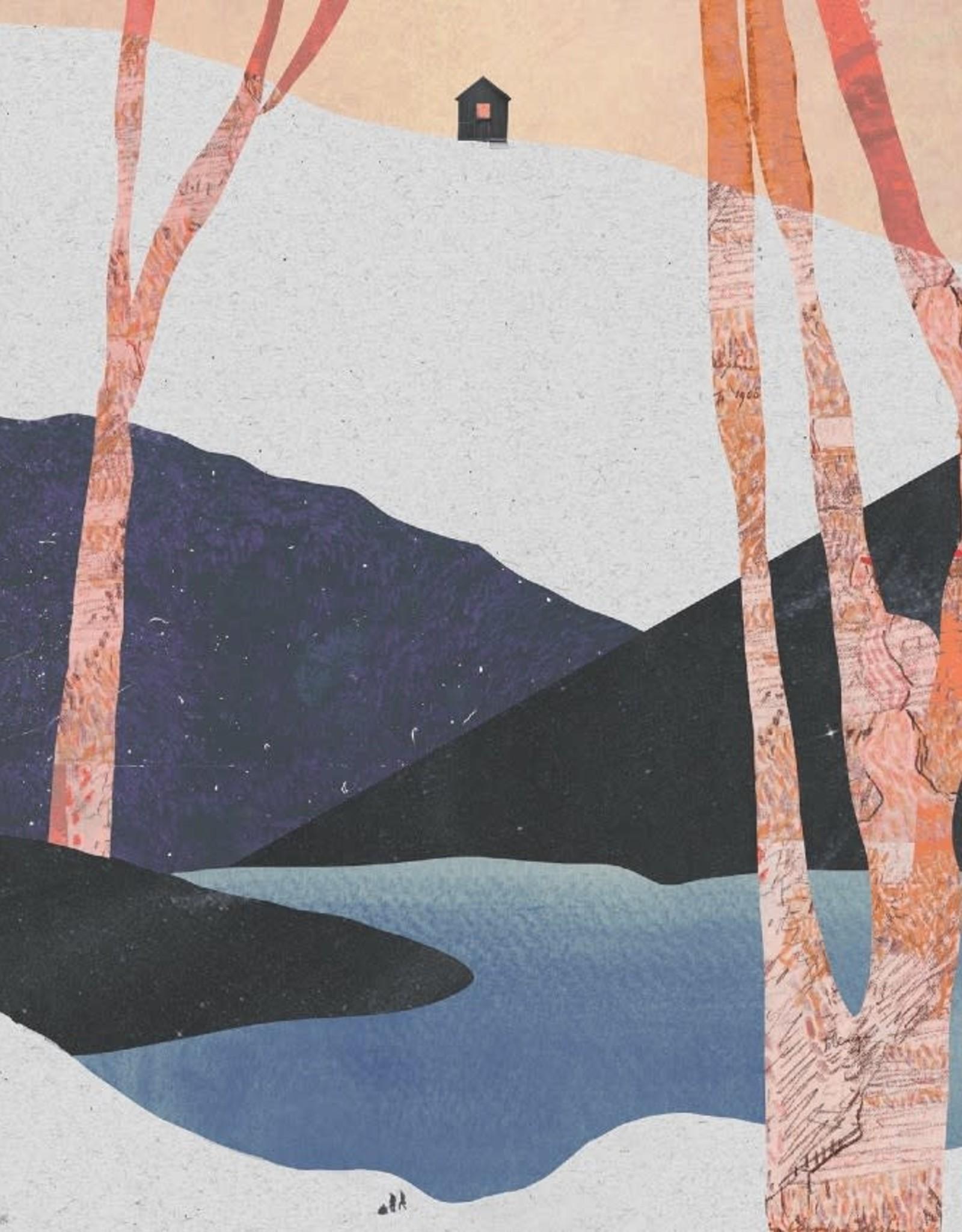 DRÉA Collage Affiche 8.5x11 Le refuge Dréa Collage