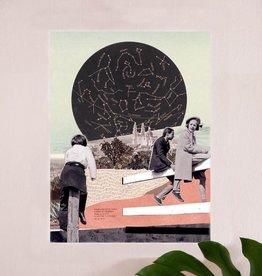 DRÉA Collage Affiche 8.5X11 Étoile polaire Dréa Collage