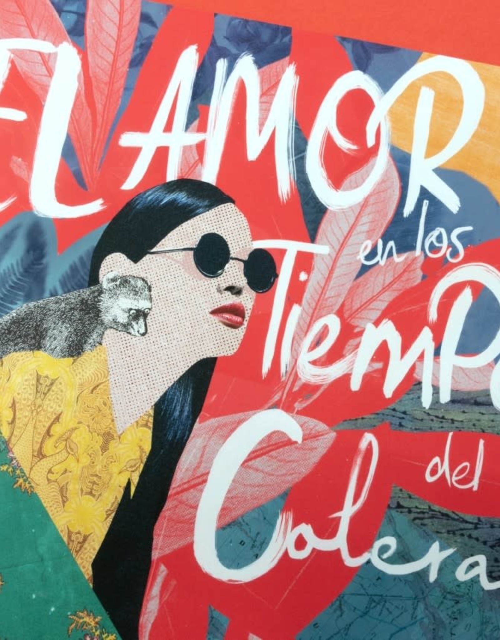 DRÉA Collage Affiche 11x14 L'amour aux temps du choléra Dréa Collage